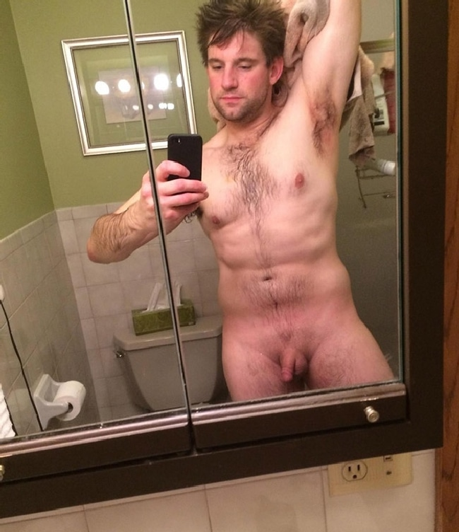 Unexpectedness! Nude amateur tiny penis army selfies