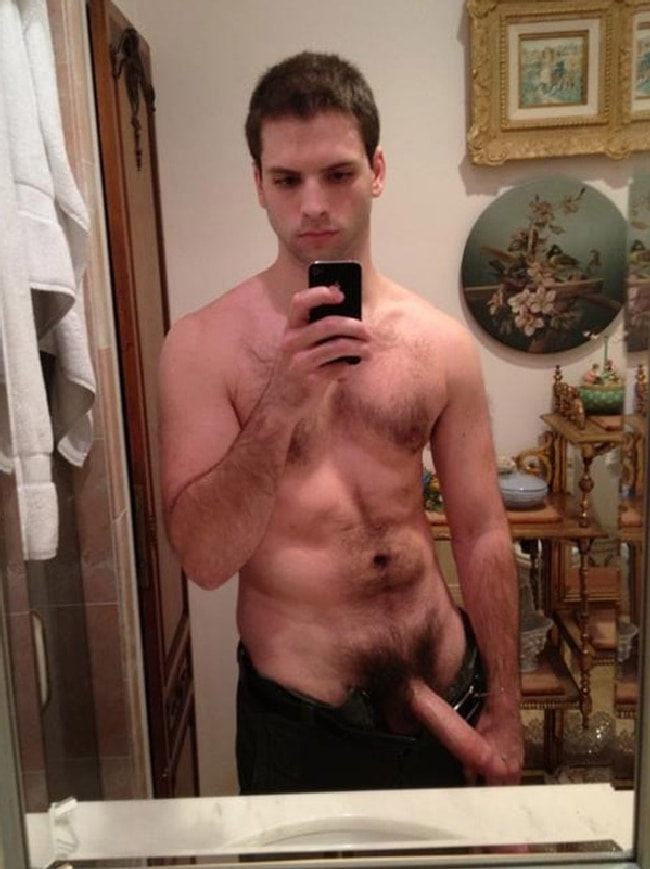 Sexy Man With Hairy Cock