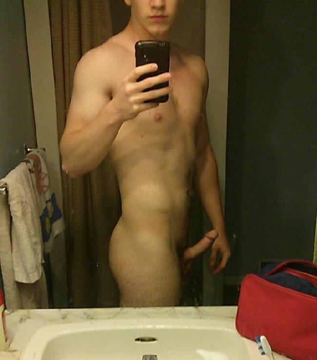 Erected Teen Cock