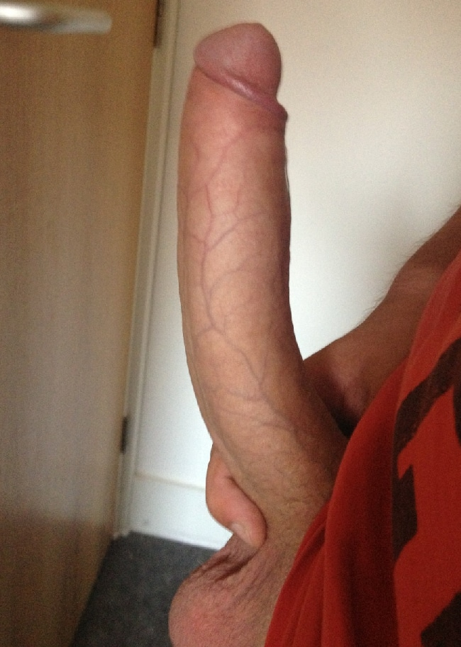 Guy Taking Pictures Of His Hard Cock - Just Cock Pictures