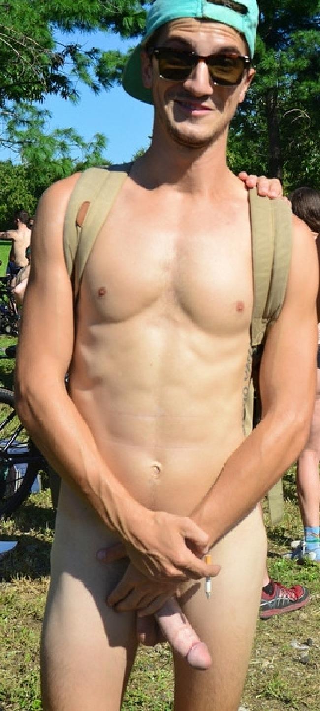 Nude Man Outdoors